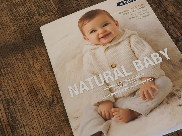 Patons Knitting Patterns For Babies Free : Natural Baby by Patons