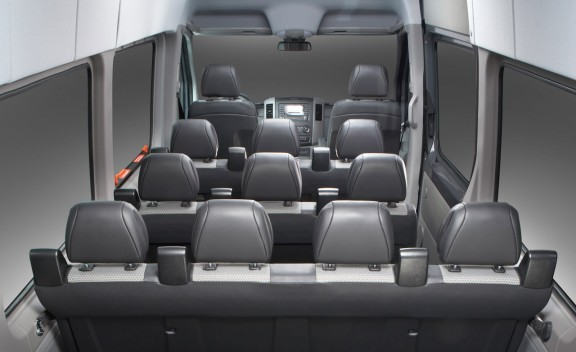 ,mercedes sprinter inside